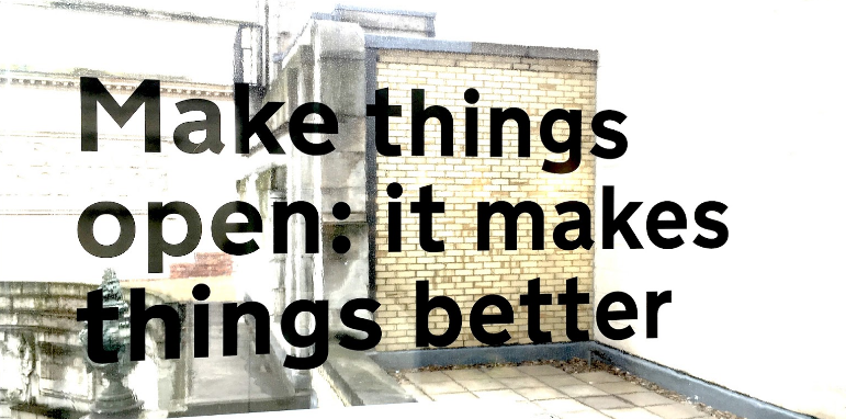 Make things open image